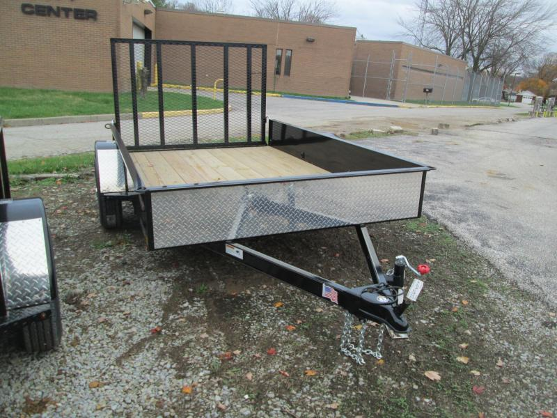 2018 8' x 10' Solid Sided H&H Utility. 76522