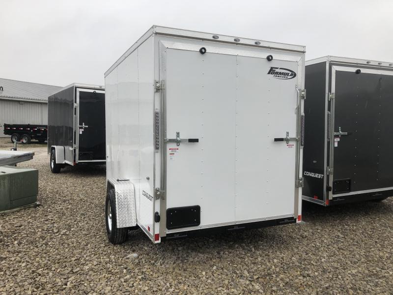 2019 6x10 Formula Enclosed Trailer. 863