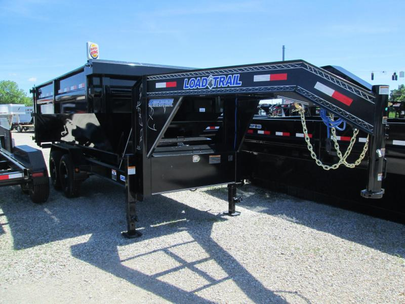 2018 83x14 14 Load Trail Drop-N-Go Gooseneck Dump. 63297
