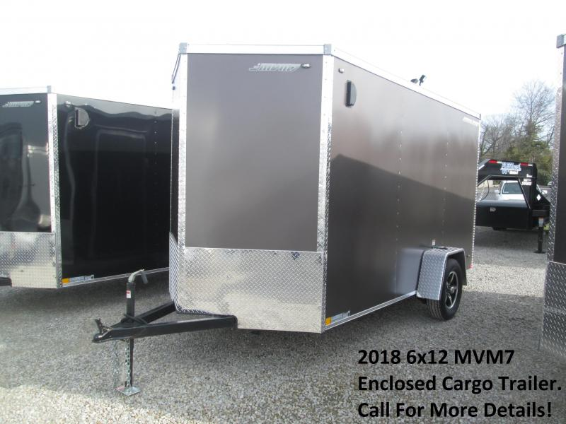 2018 6x12 MVM7 Enclosed Cargo Trailer. 938