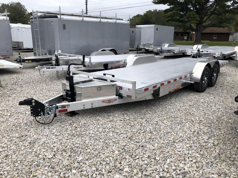 2019 22x82 14K H and H Equipment Trailer. 14051