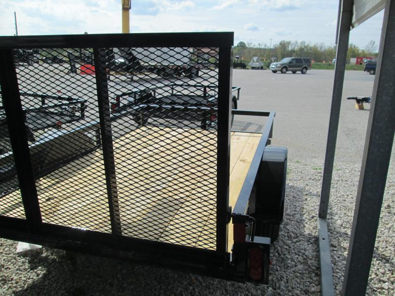 2019 5' x 8' Diamond C Single Axle Utility Trailer. 05594