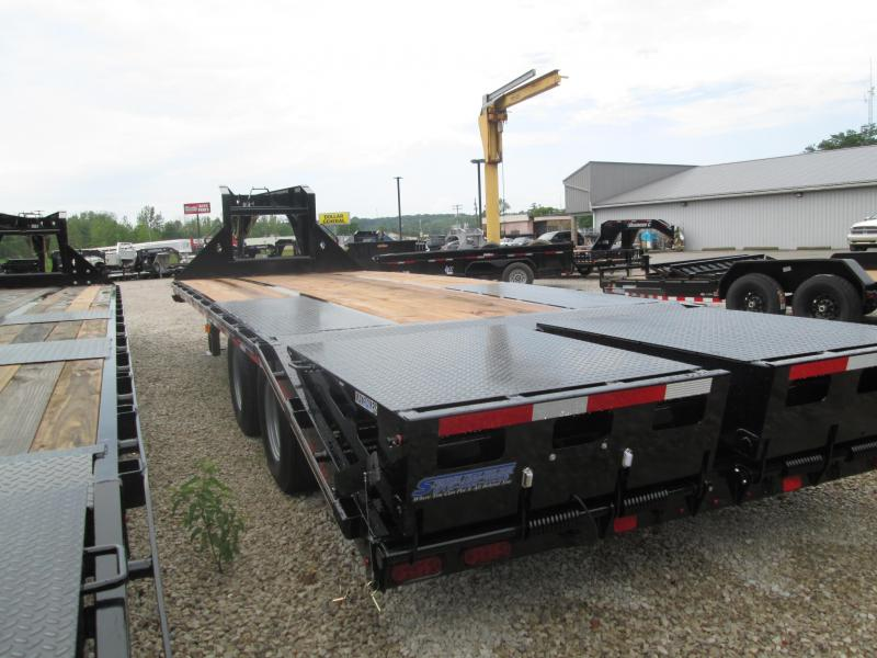 "2019 FMAX 210MR 25'x102"" 25K Diamond C Engineered Beam Equipment Trailer. 15375"