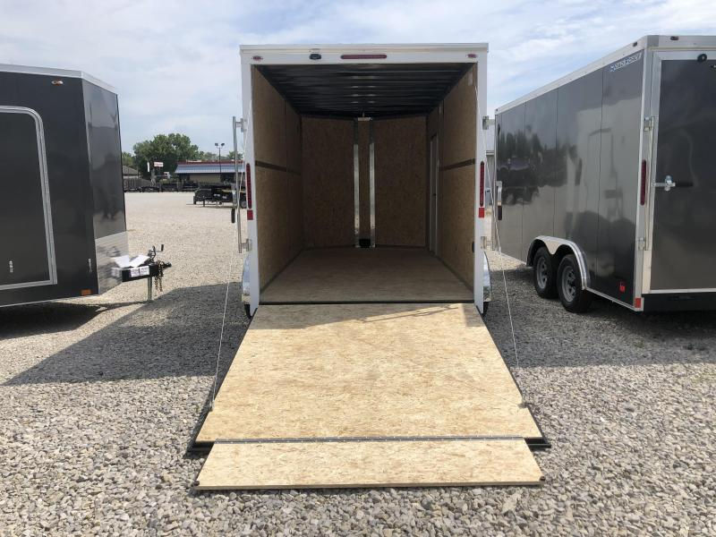 2020 7x14 Legend Trailers Cyclone Enclosed Cargo Trailer. 17824
