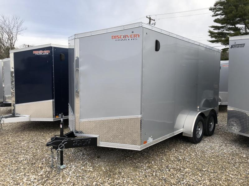 2019 7'x14' 7k Discovery Enclosed Trailer. 2227