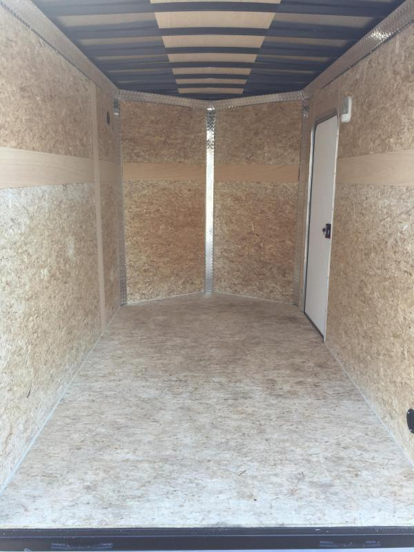 2018 6' x 10' MVM7 Enclosed Cargo Trailer. 1004