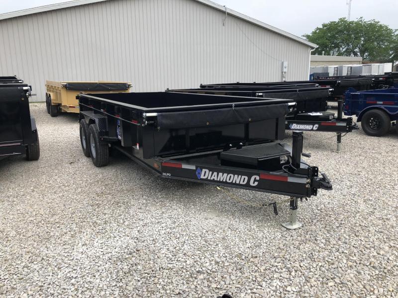 """2018 14'x82"""" 14K Diamond C Dump Trailer. 00379"""