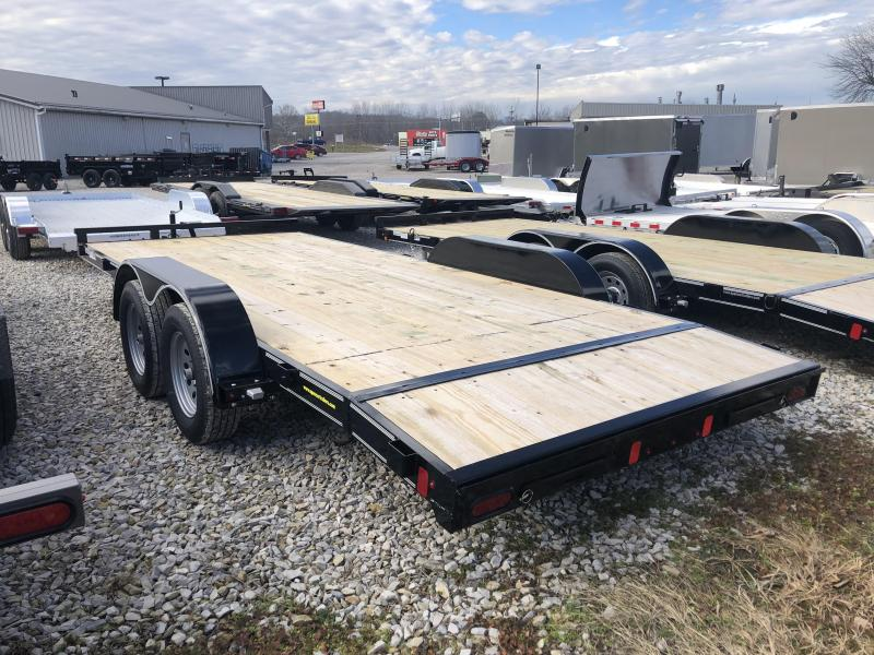 2019 16+2x83 7K Diamond C Car Trailer. 07239