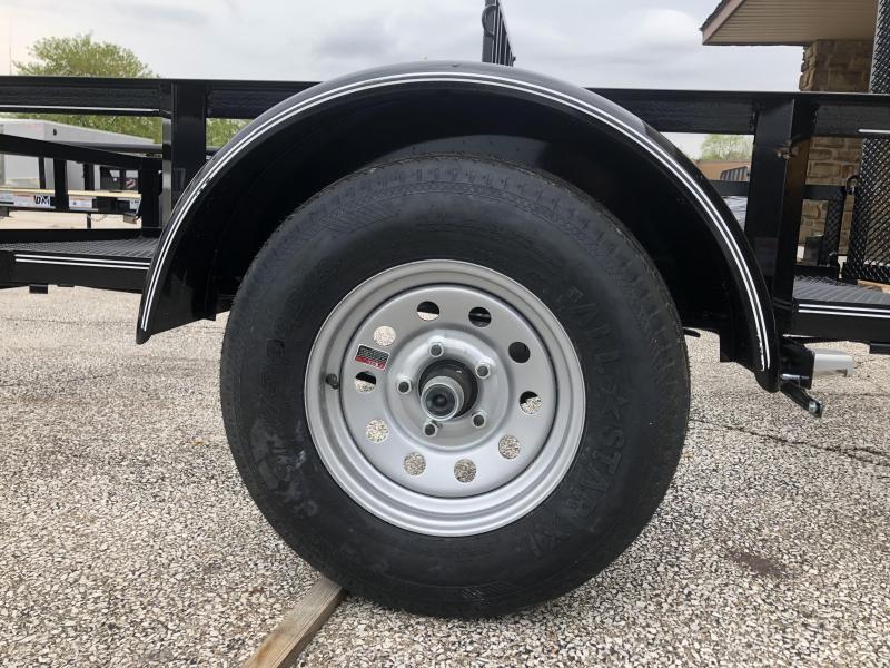 2019 5X8 Diamond C Utility Trailer. 13797