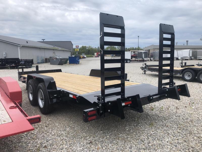 2019 18'+2' 20k Behnke Equipment Skidloader. 49481