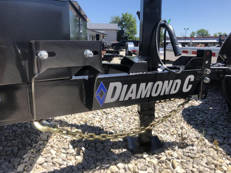 2019 22x102 14.9K Diamond C Tilit Equipment Trailer. 16855