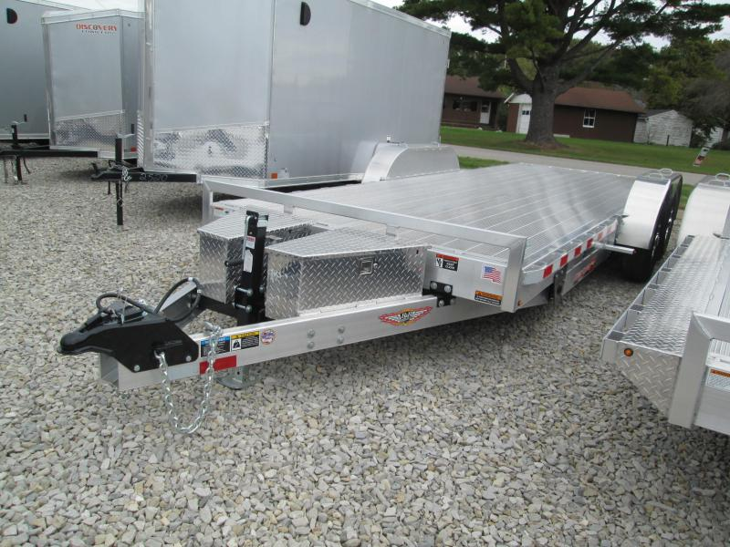 2019 20x82 10K H and H Equipment Trailer. 14052