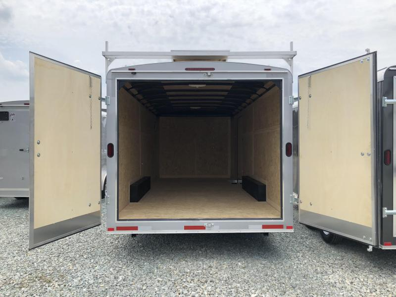 2018 8'x18' Atlas Enclosed Trailer. 40562
