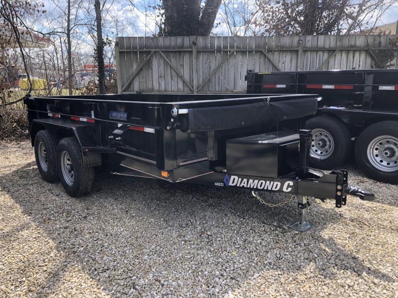 """2019 77""""x12' 10k Diamond C Dump. 07095"""
