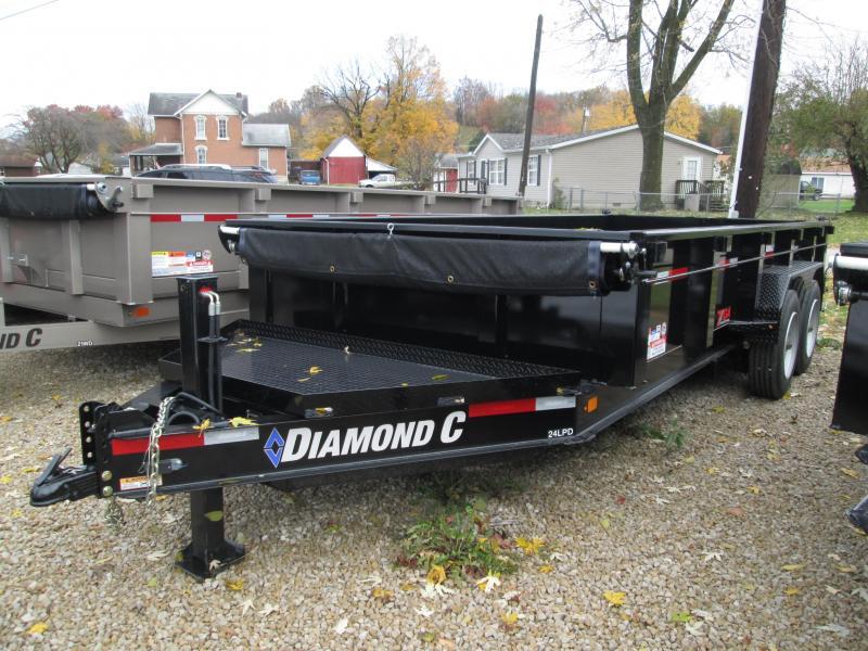 2019 16x82 14.9K Diamond C Dump Trailer. 2870