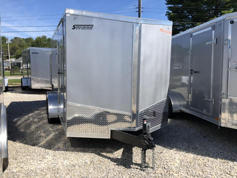 2019 7x14 7K Discovery Enclosed Trailer. 2792
