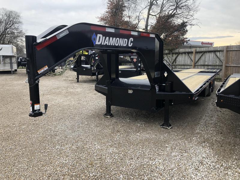 """2019 30'x102"""" 25.9K Diamond C GN Equipment Trailer. 98743"""