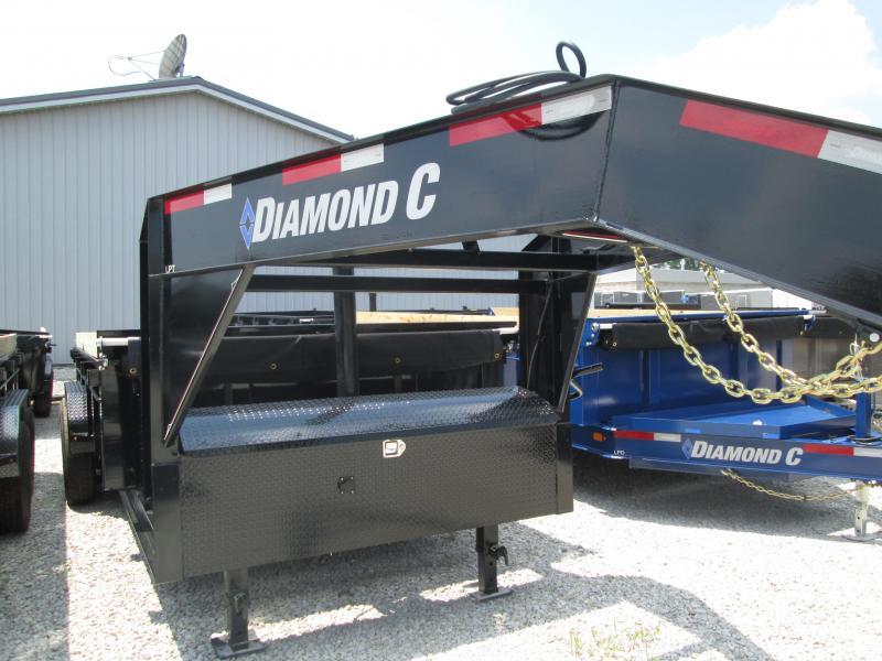 2019 16x82 14.9K Diamond C GN Dump Trailer. 14570