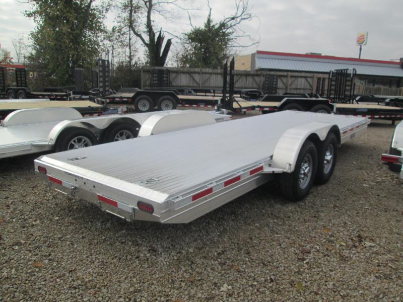2018 22' 14k Featherlite Aluminum Car Trailer. 147444