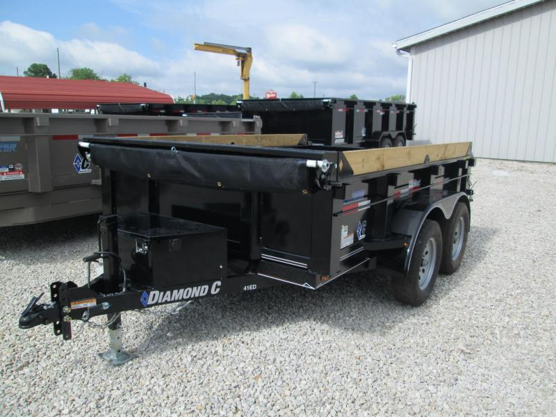 2018 10x77 7K Diamond C Dump Trailer. 2552