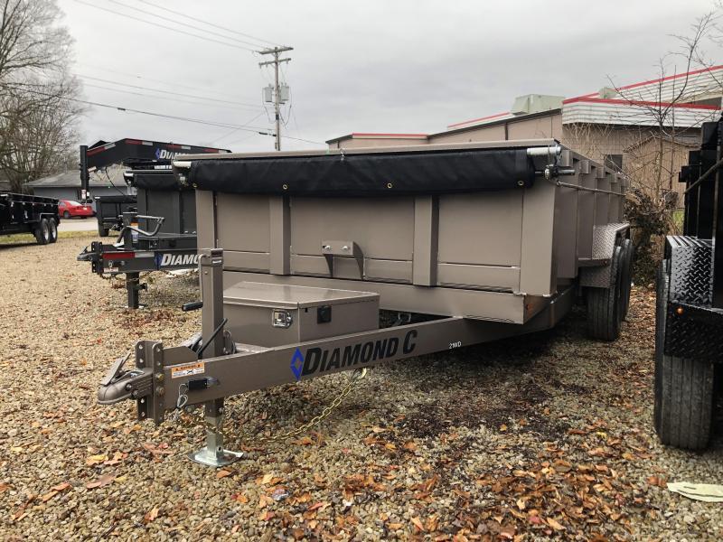 2019 14x82 14.9K Diamond C Dump Trailer. 7899 in Ashburn, VA