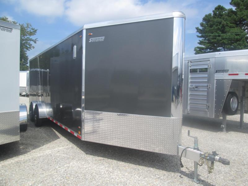 2020 7x24 +5' Vnose Legend Manufacturing Trackmaster Enclosed Cargo Trailer