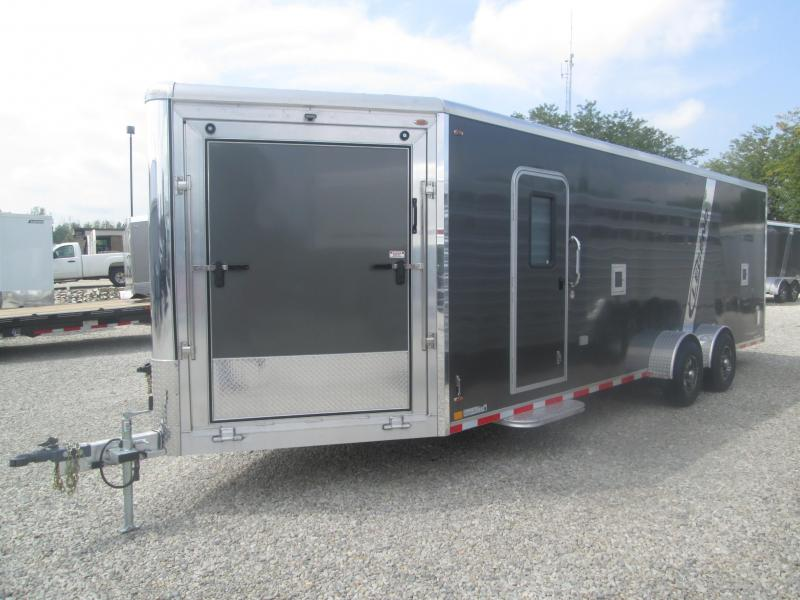 2020 7x24 +5' Vnose Legend Manufacturing Trackmaster Enclosed Cargo Trailer
