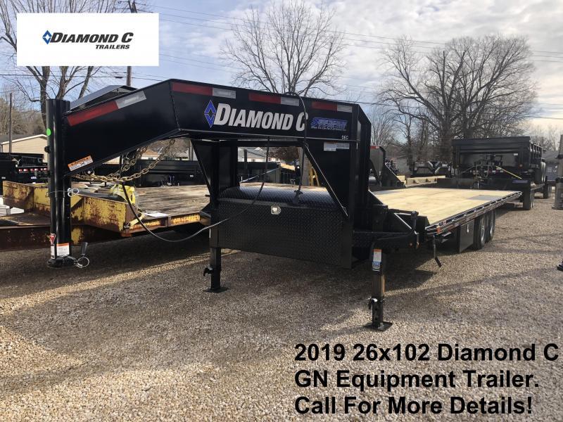 2019 26x102 14.9K Diamond C GN Equipment Trailer. 11071