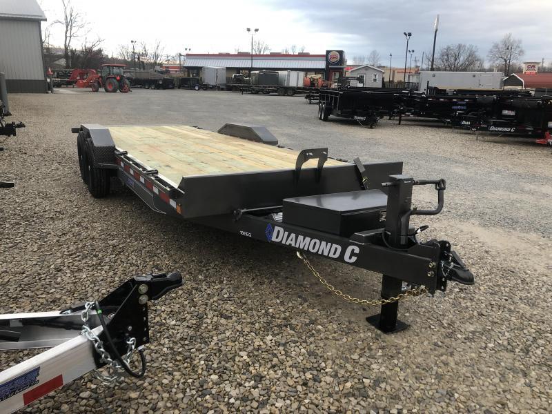 2019 22x82 14.9K Diamond C Equipment Trailer. 10359