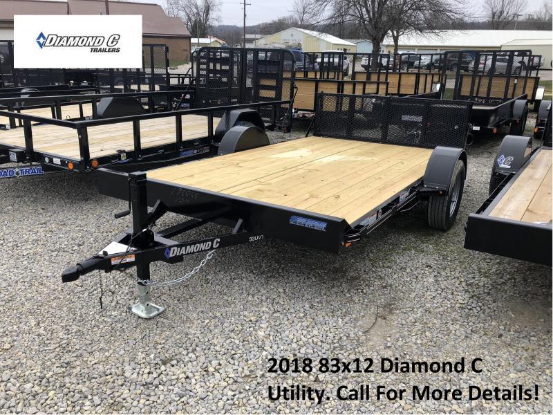 2018 83x12 Diamond C Utility. 96066