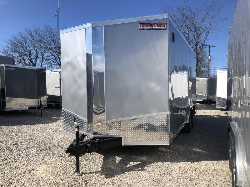 2019 8.5x18 10K Discovery Enclosed Trailer. 4314