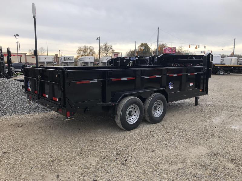 2019 16x82 14.9K Diamond C GN Dump Trailer. 5258