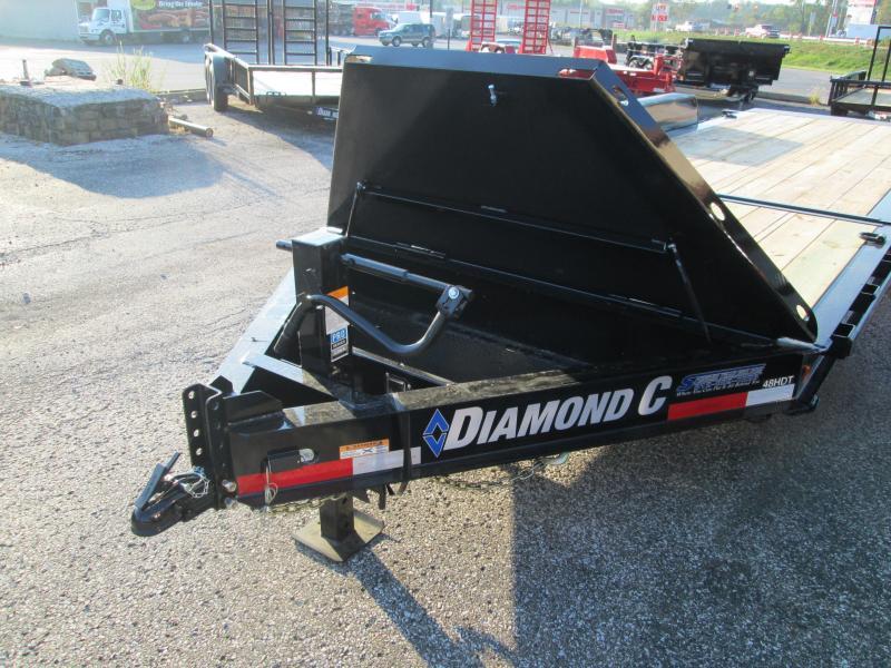 2019 16+6x82 14.9K Diamond C Equipment Trailer. 6058