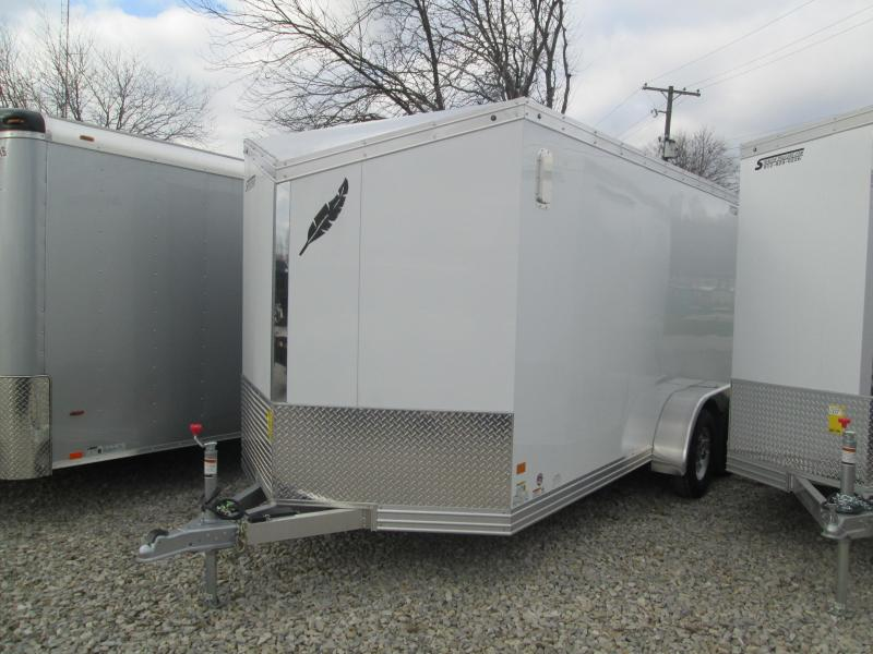 2018 7x16 7k Featherlite Aluminum Enclosed. 147707