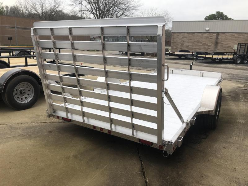 "2019 78""x14' Zimmerman U7141 Utility Trailer"