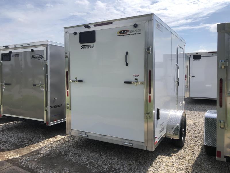 2019 6x11 Legend Manufacturing Explorer Enclosed Cargo Trailer. 17791