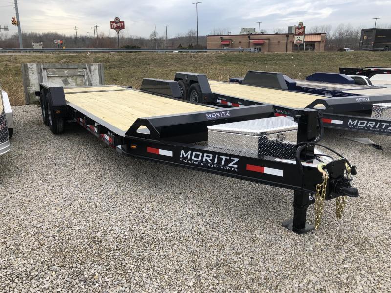 2019 18'+4' 14k Moritz Equipment Trailer. 34976