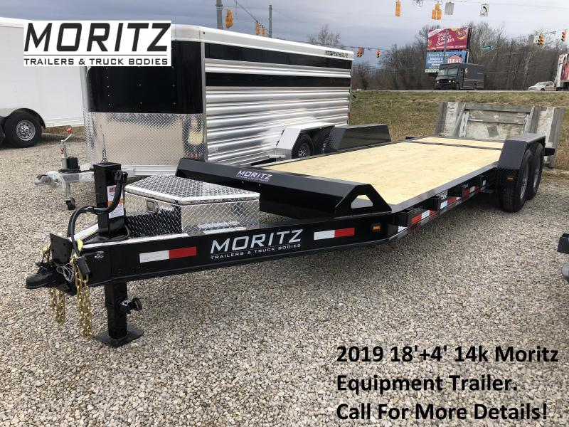 2019 18'+4' 14k Moritz Equipment Trailer. 34976 in Ashburn, VA