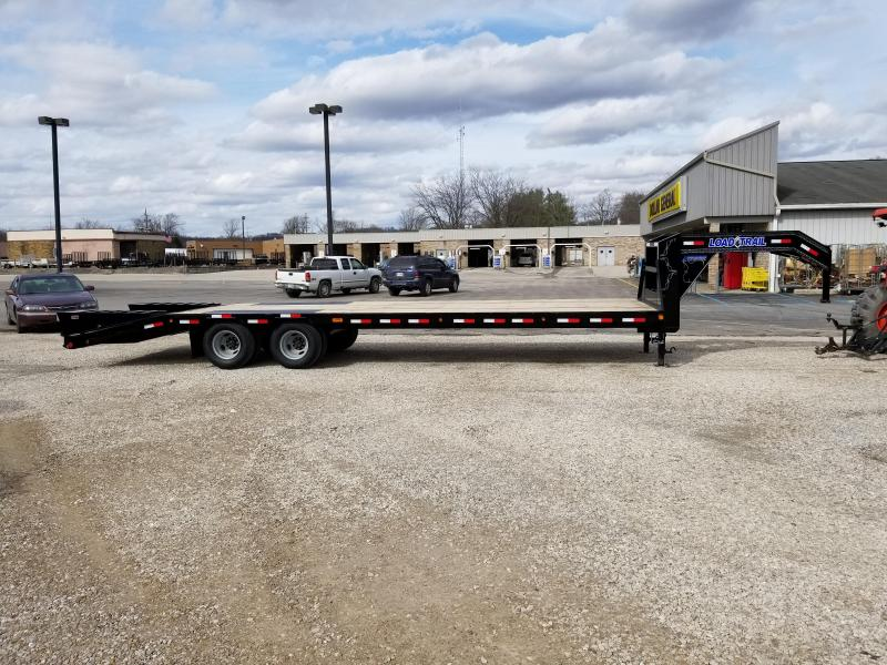 "2018 25' + 5' x 102"" 22K Load Trail GN Equipment Trailer. 55396"