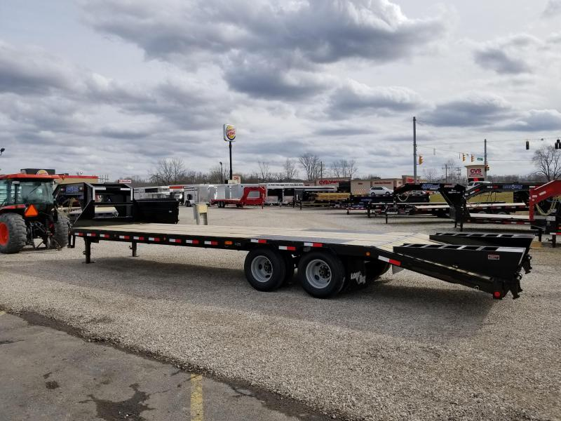 "2018 25' + 5' x 102"" 22K Load Trail GN Equipment Trailer. 55396"