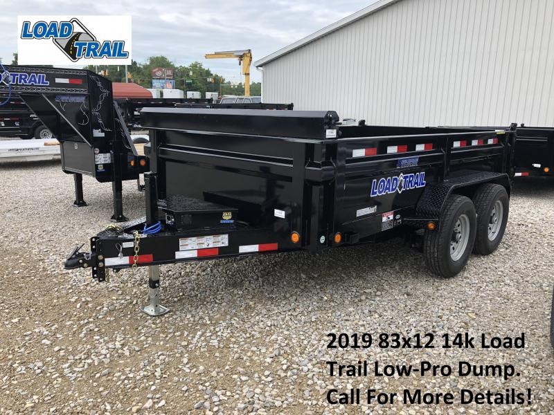 2019 83x12 14k Load Trail Low-Pro Dump. 71585