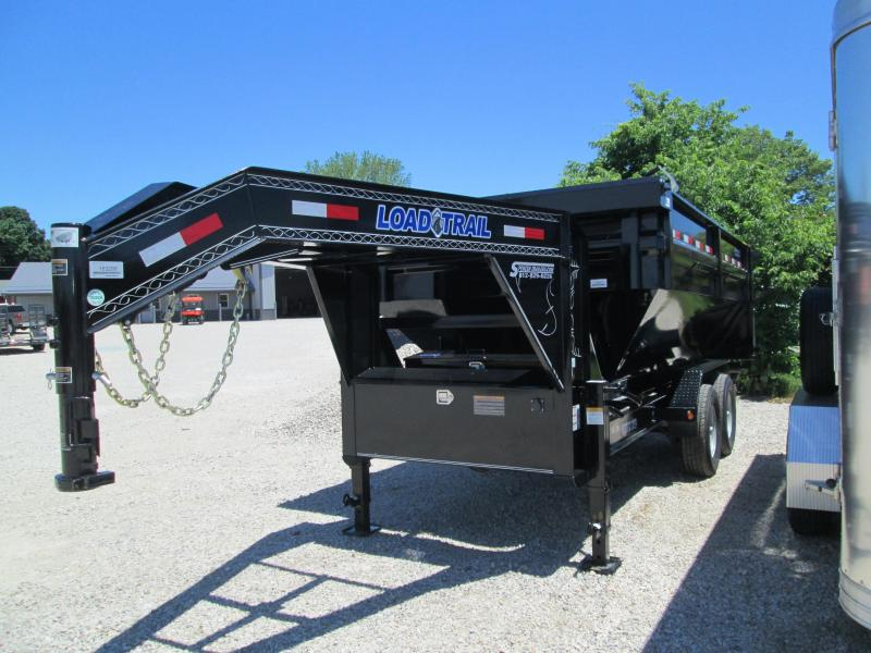 2018 83x14 14 Load Trail Drop-N-Go Gooseneck Dump. 63298
