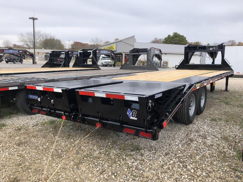 2019 20+5 15.5K Diamond C Equipment Trailer. 6375