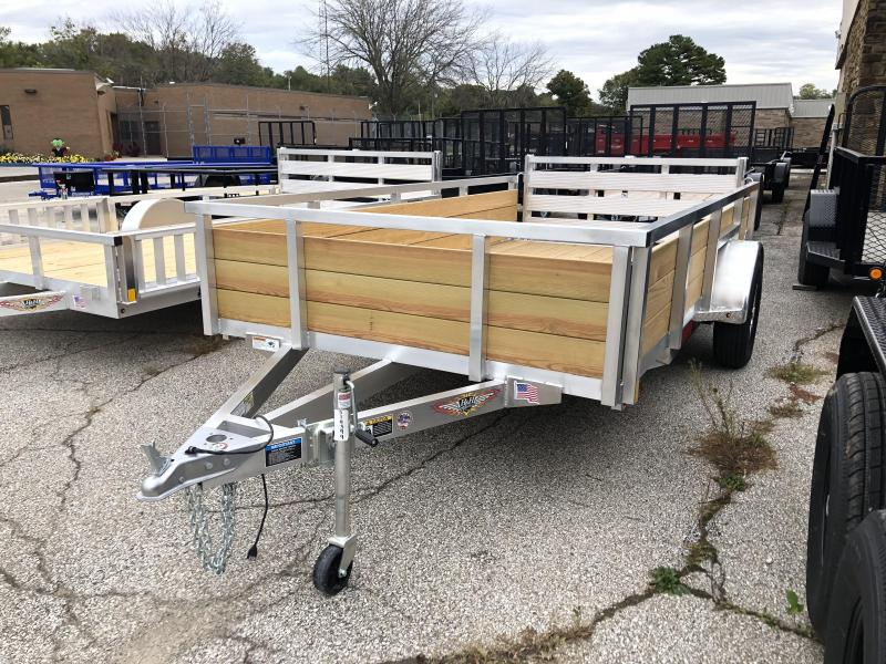 2019 12x76 H and H Utility Trailer. 14399
