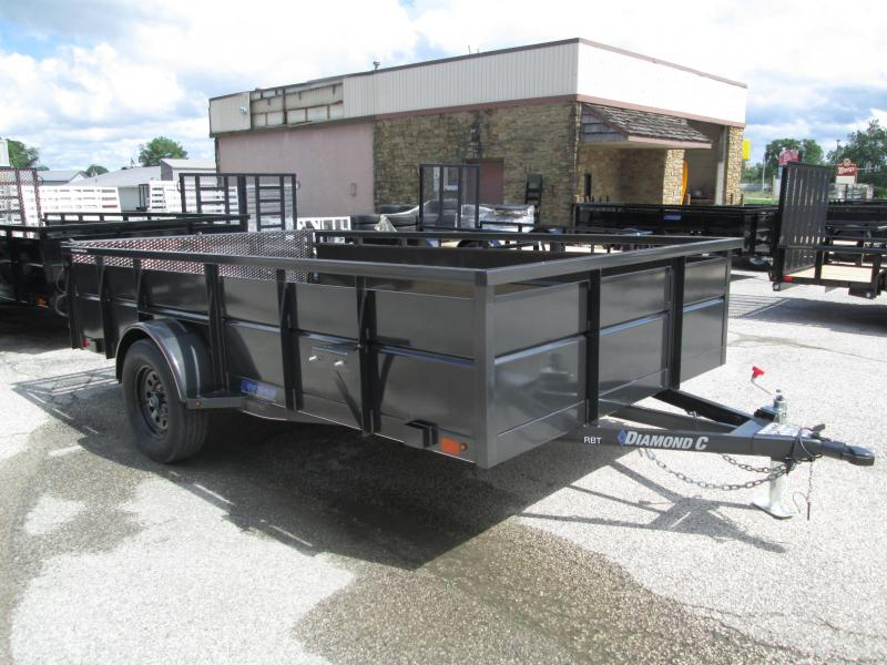 2019 12x83 Diamond C Utility Trailer. 15098