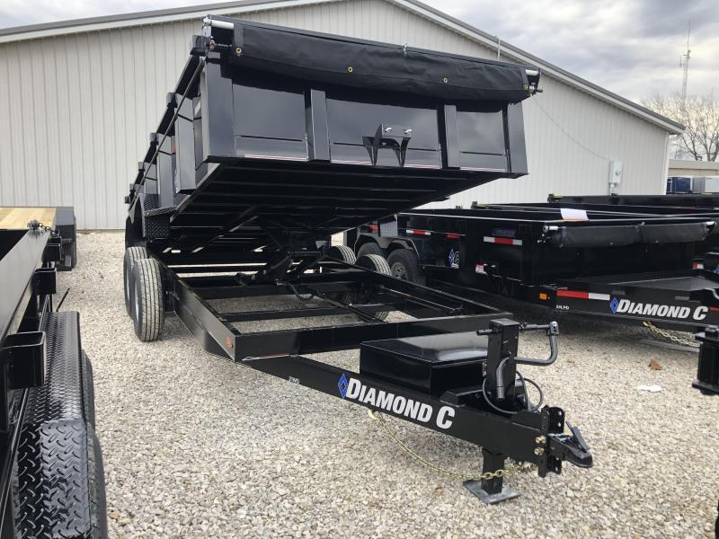 2019 16x82 14.9K Diamond C Dump Trailer. 8777 in Ashburn, VA