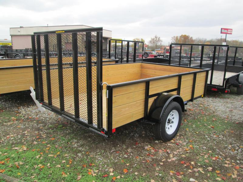 2018 8' x 10' Wood Sided H&H Utility. 76525