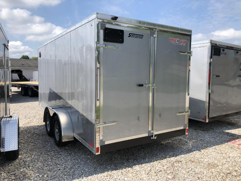 2019 7x16 7K Discovery Enclosed Cargo Trailer. 2640