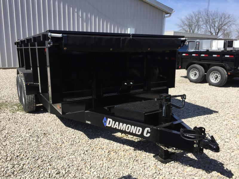 2018 Diamond C 14x82 14k Dump Trailer. 98154