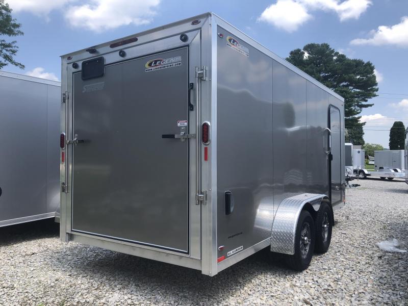 2020 7x16 +3 foot Vnose Legend Flat Top V-Nose Cargo Enclosed. 17281
